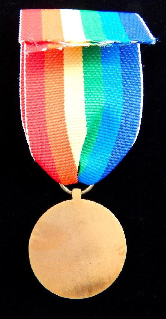 French Medal Lot and 2 Beret Badges - 3