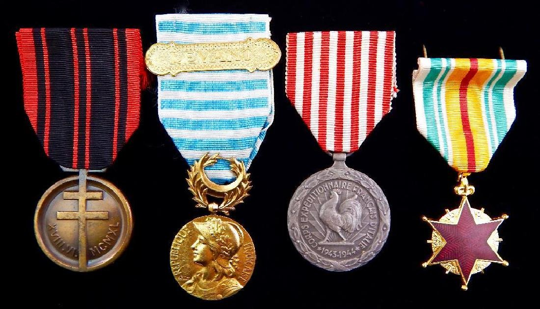 Group of 4 French Medals