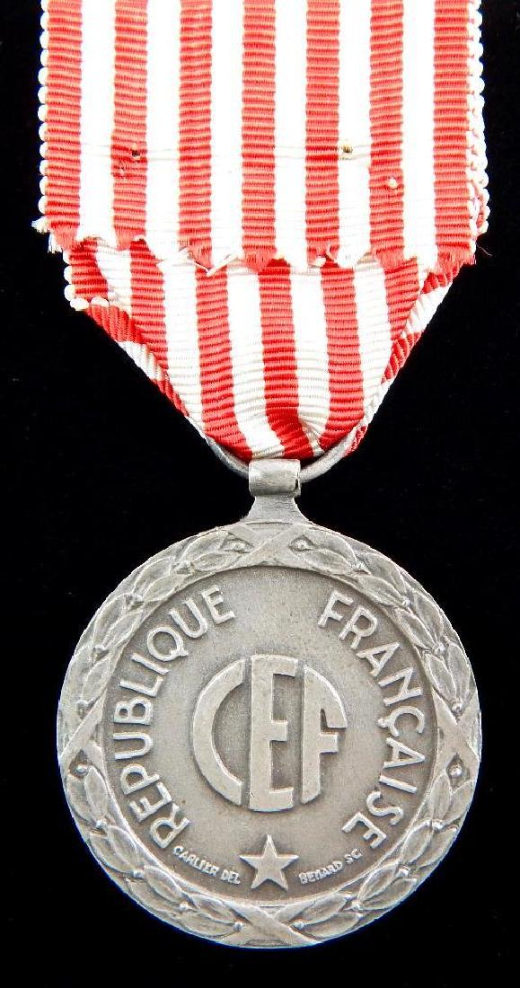 Group of 4 French Medals - 7