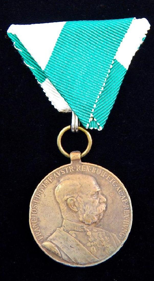 Group of 5 Imperial Austrian Medals - 2