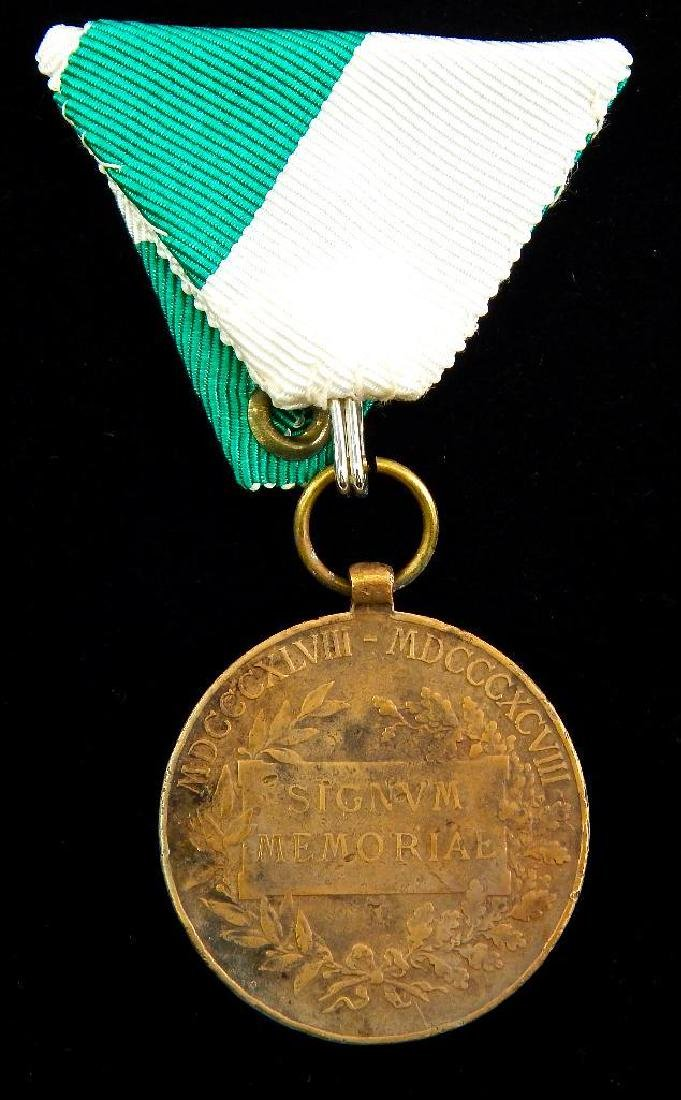 Group of 5 Imperial Austrian Medals - 3