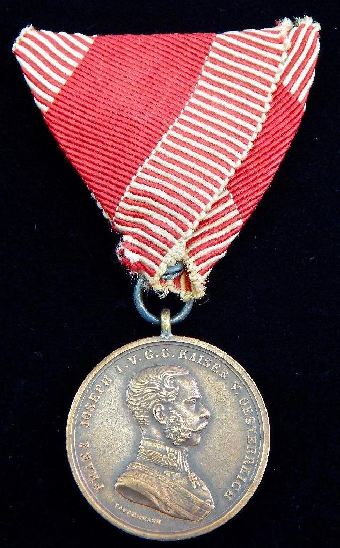 Group of 5 Imperial Austrian Medals - 6