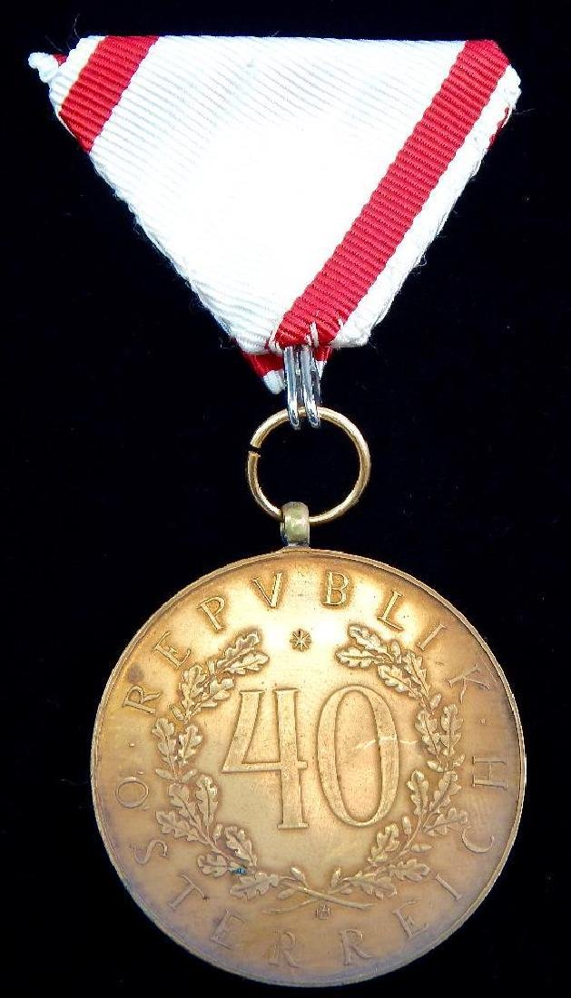 Group of 5 Imperial Austrian Medals - 9