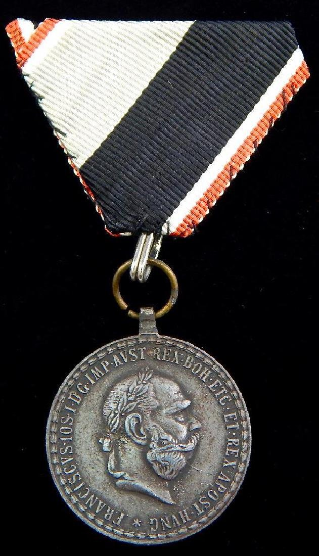 Group of 5 Imperial Austrian Medals - 8