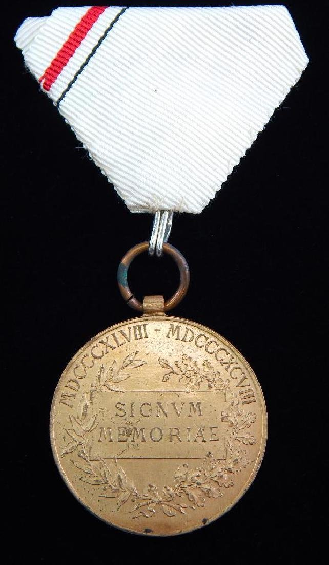 Group of 5 Imperial Austrian Medals - 5