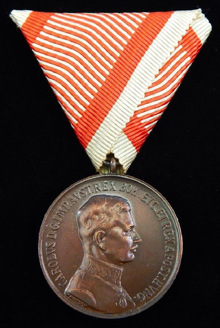 Group of 5 Imperial Austrian Medals - 4