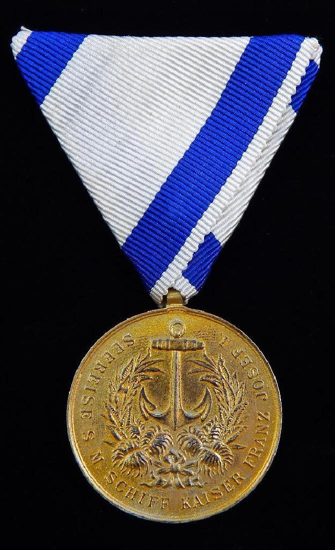Austrian Far East Service Medal 1910-1912