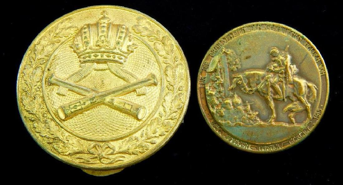 Group of 2 WWI Austrian Badges
