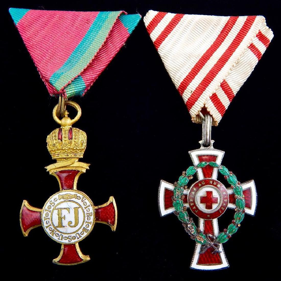 Group of 2 Imperial Austrian Medals