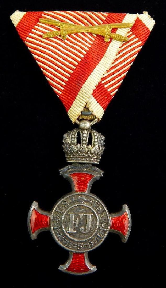 Imperial Austrian Silver Cross of Merit
