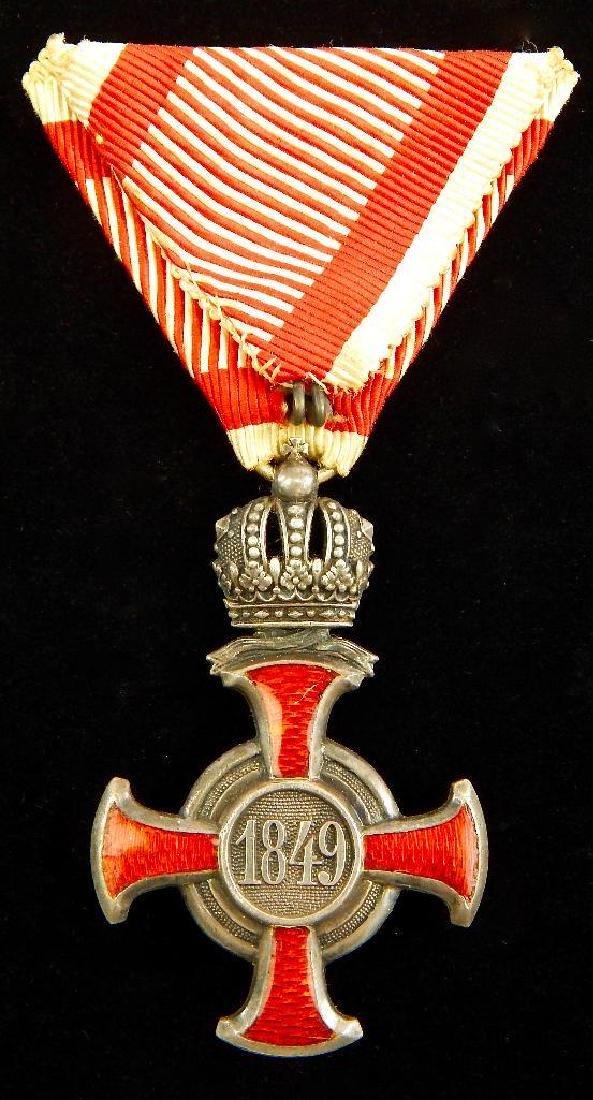 Imperial Austrian Silver Cross of Merit - 2