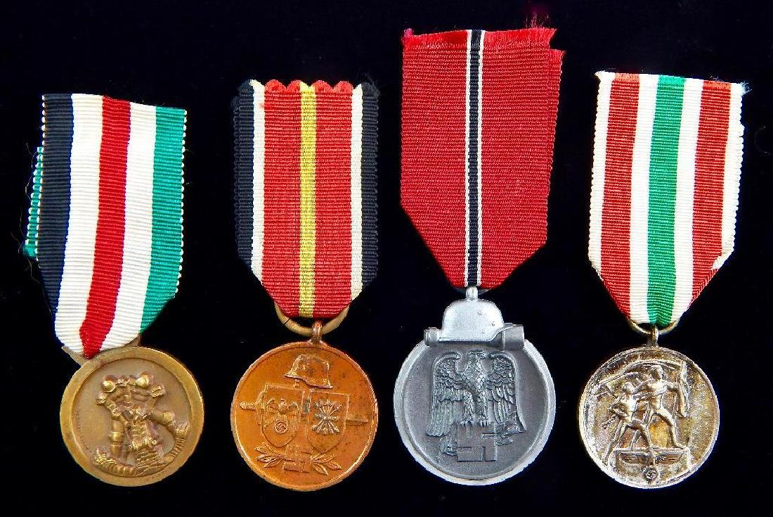 Group of 4 Third Reich Medals