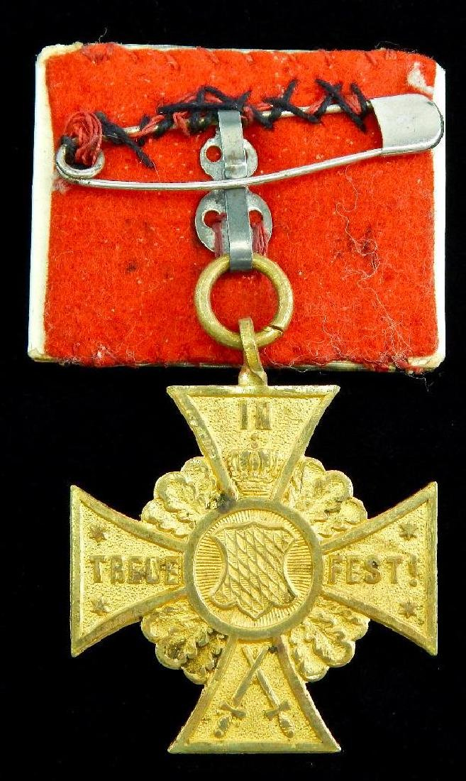 Bavarian 4th Infantry Rgt. Cross - 2