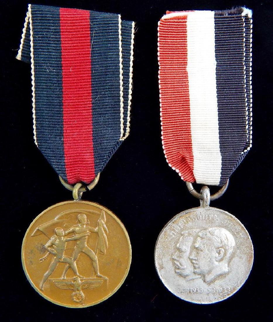 Group of 2 German Third Reich Medals