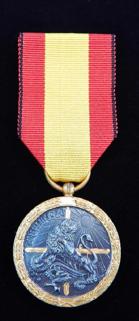 Group of 3 WW2 Spanish MedalsÊ+ 2 1936 Campaign Medals - 2
