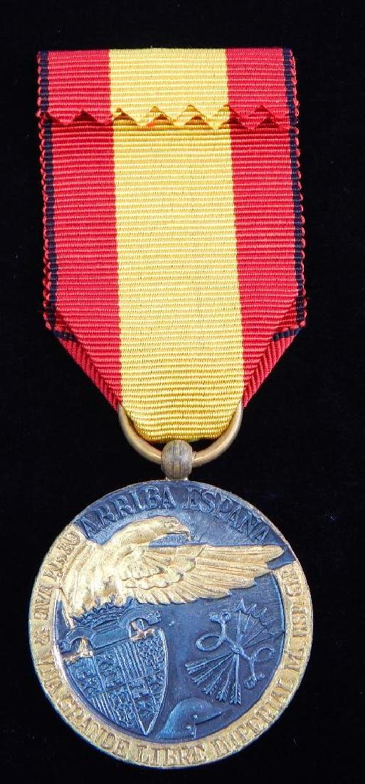 Group of 3 WW2 Spanish MedalsÊ+ 2 1936 Campaign Medals - 3