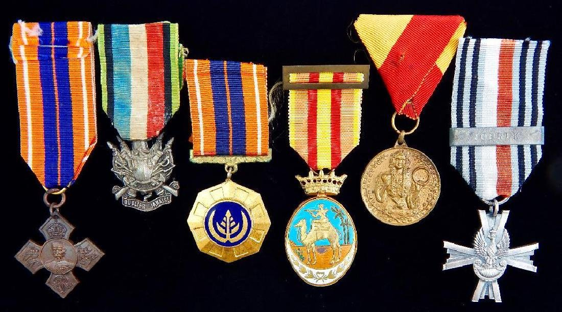 Group of 6 Misc. European Medals
