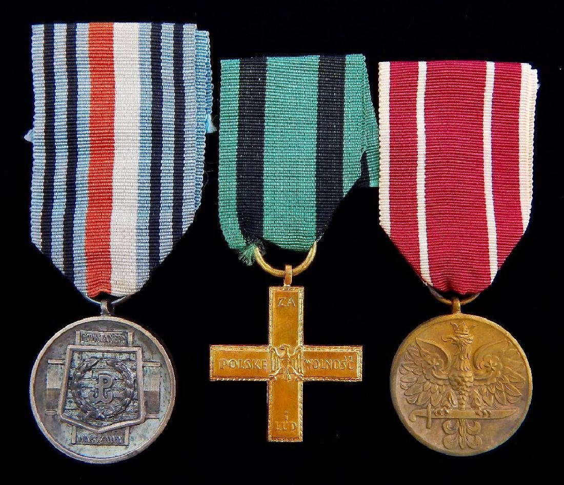 GRoup of 3 Polish Medals