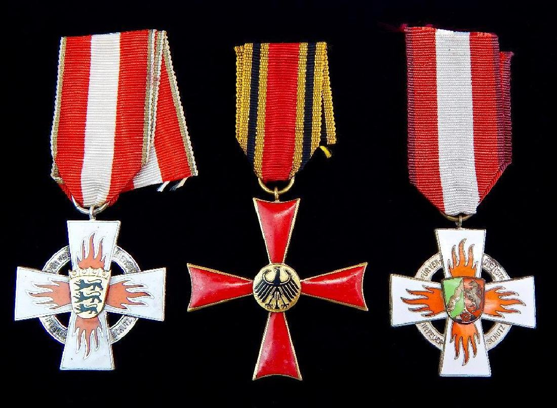 Group of 3 German Medals Federal Republic