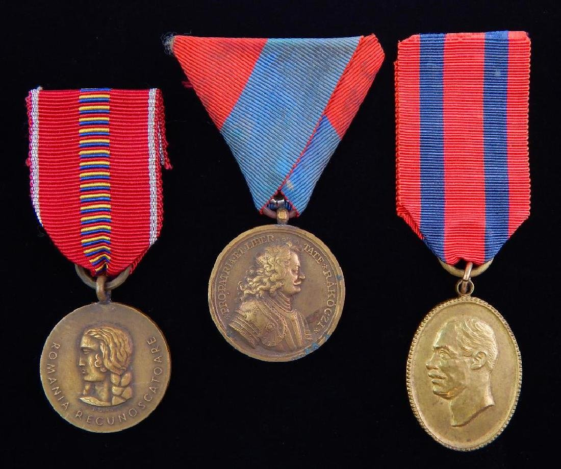 Group of 3 WWI Balkan Medals