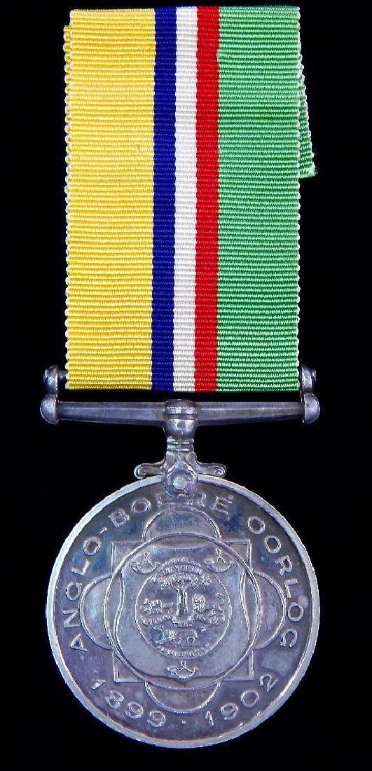 South African Boer War Veterans Medal
