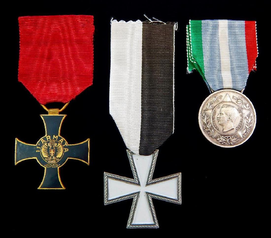 Group of 3 Italian Medals