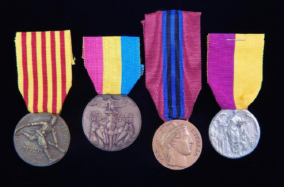Group of 4 Italian Medals