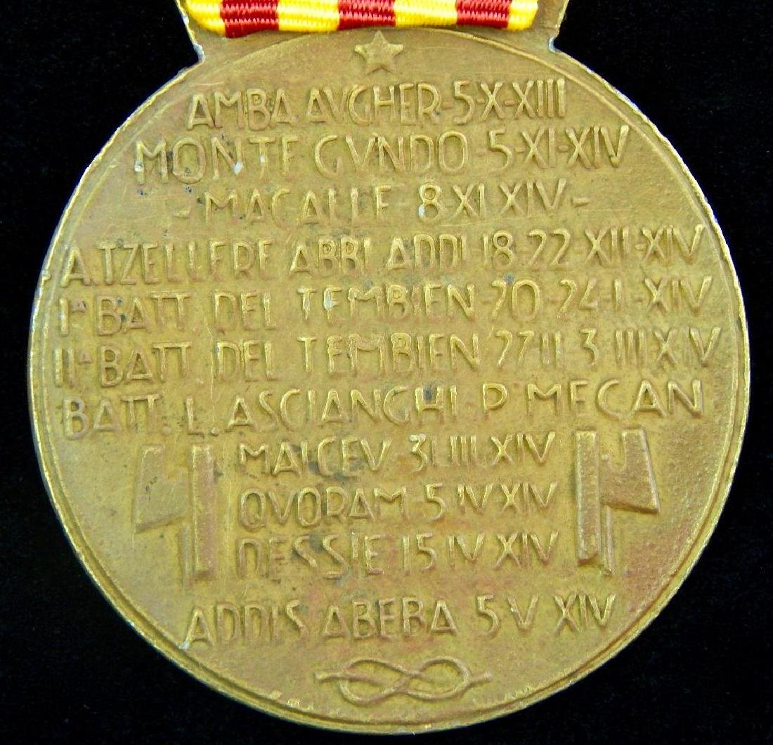 Group of 4 Italian Medals - 2