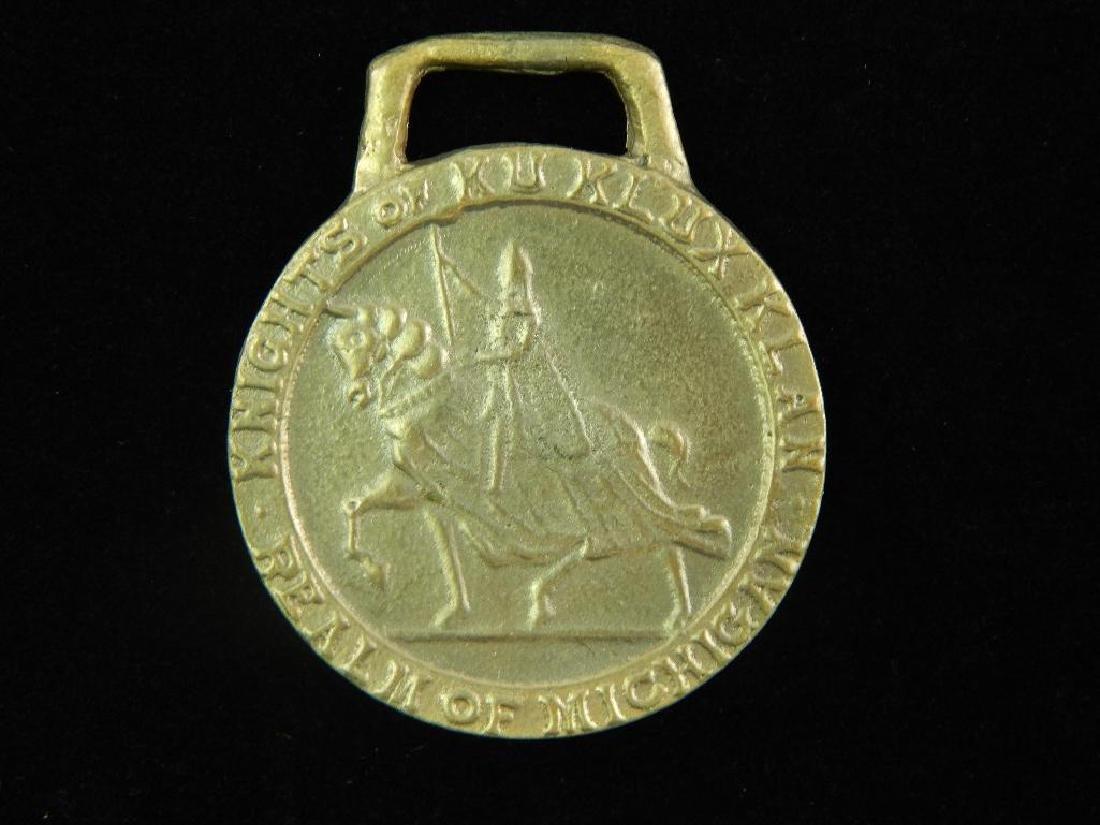 Knights of Ku Klux Klan Realm of Michigan Medal