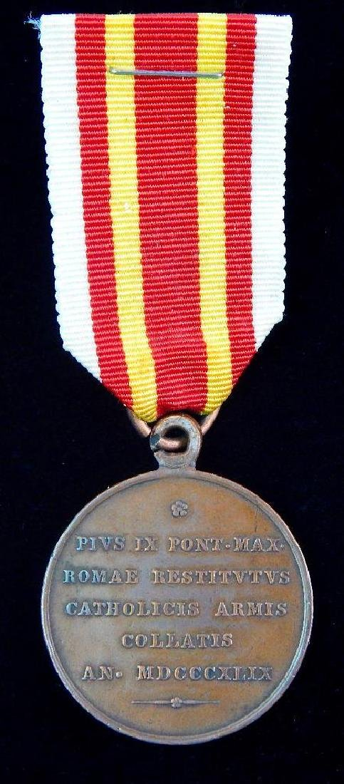 Vatican Pope Pius IX Medal - 2