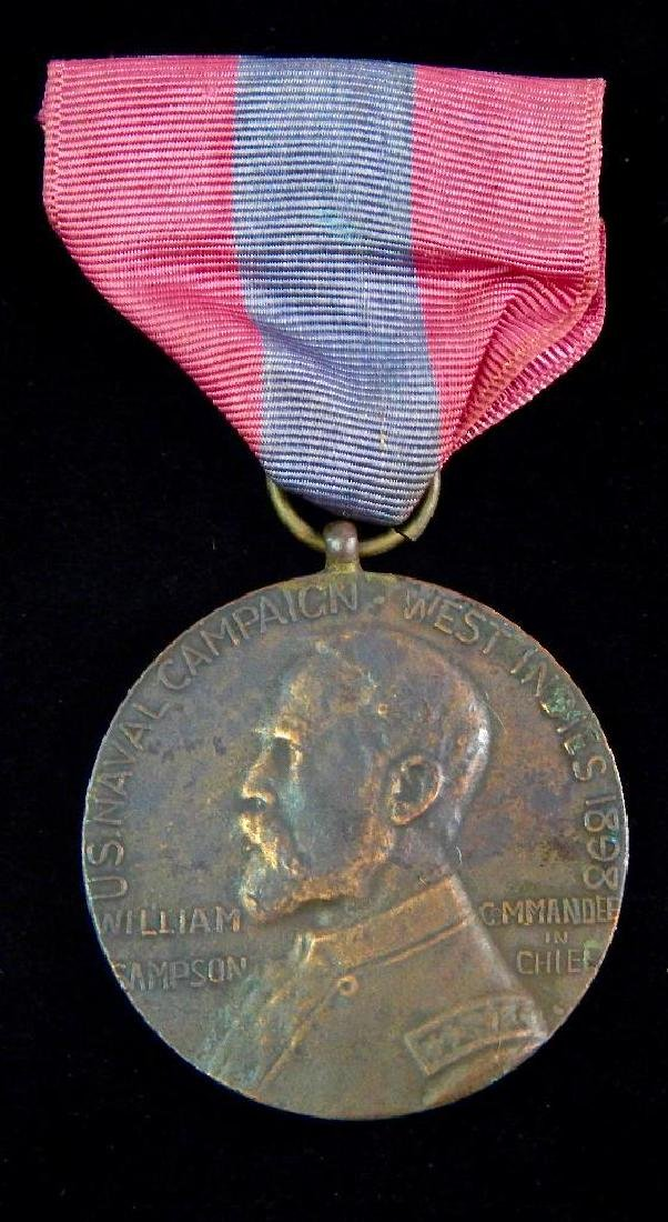 Early Studley Strike of the Sampson Medal