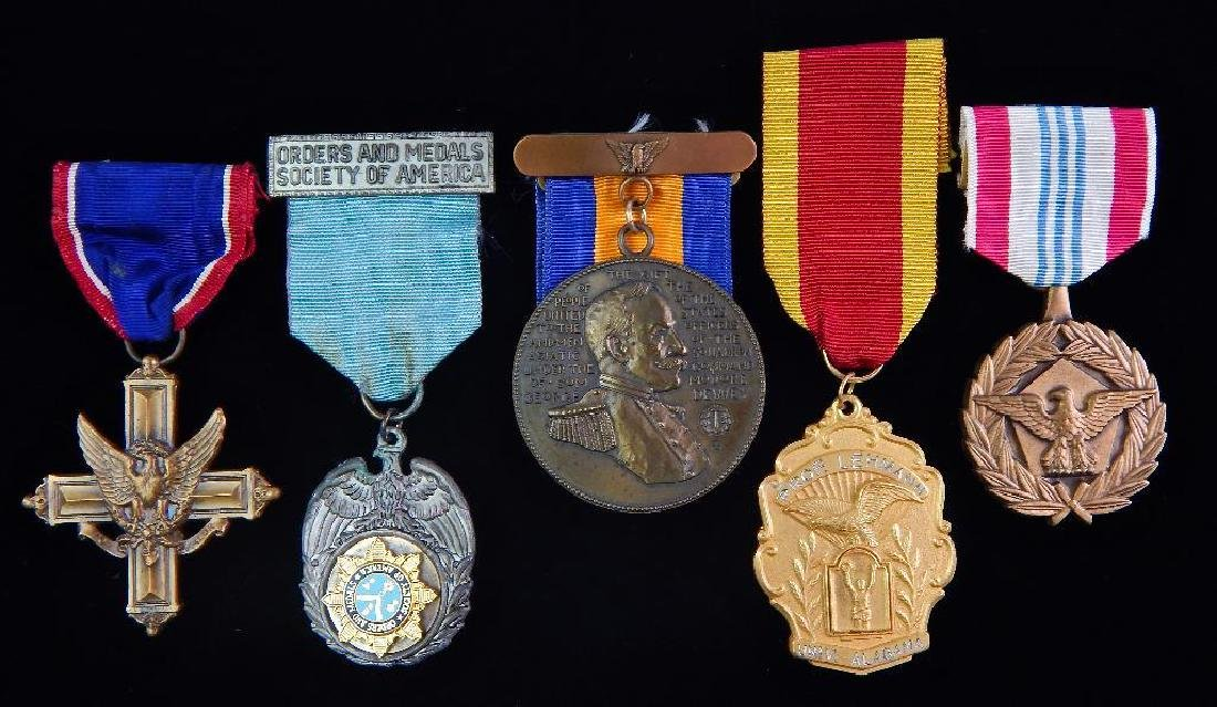 Group of 5 U.S. Medals