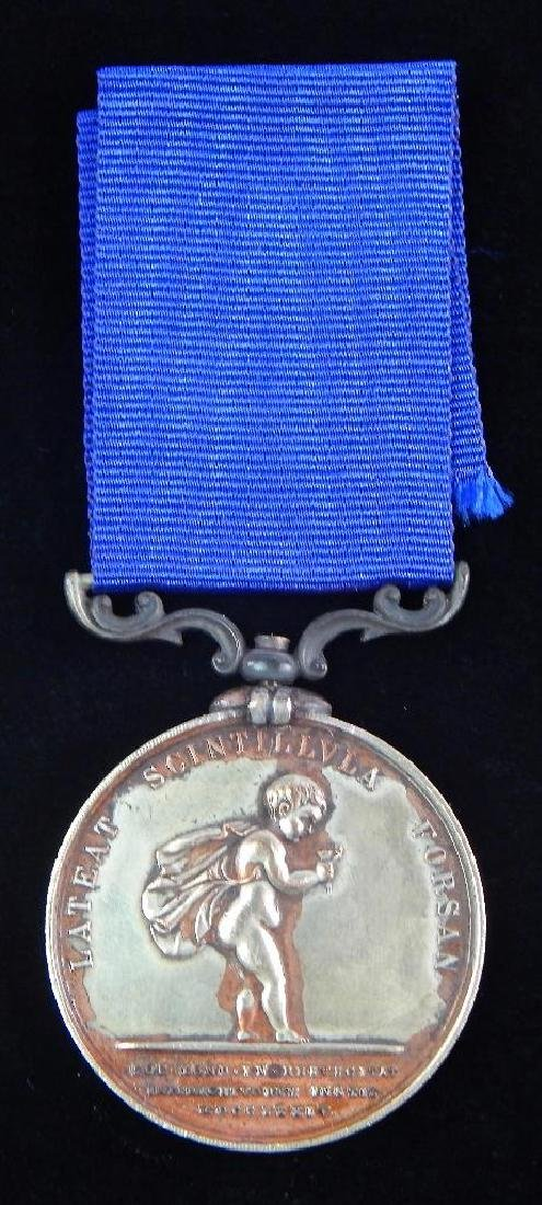 British Humane Society Silver Lifesaving Medal