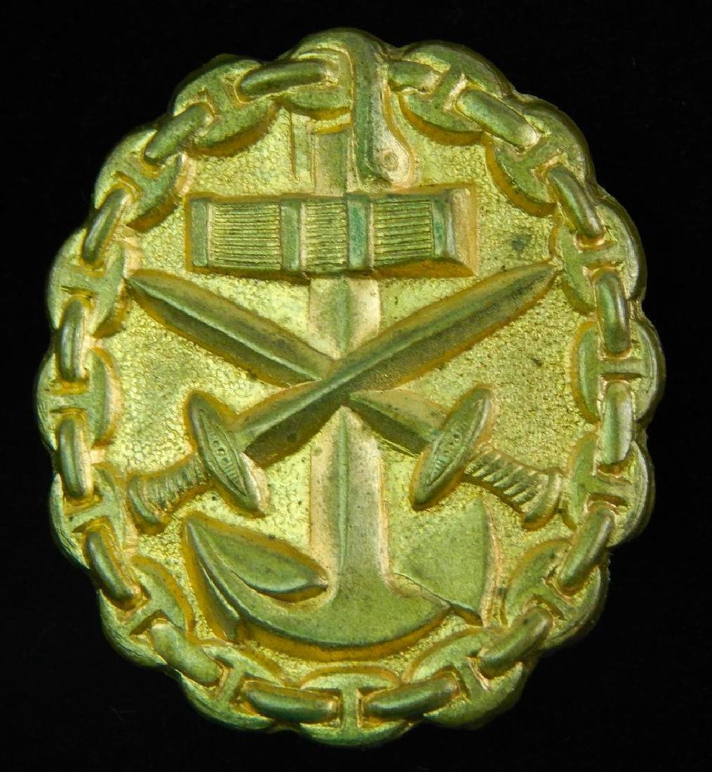 German WWi/WW2 Navy Gold Wound Badge
