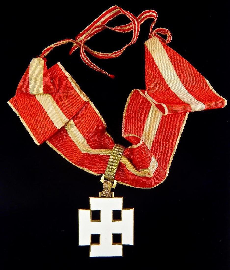 Austrian Republic Neck Order Silver Merit Medal