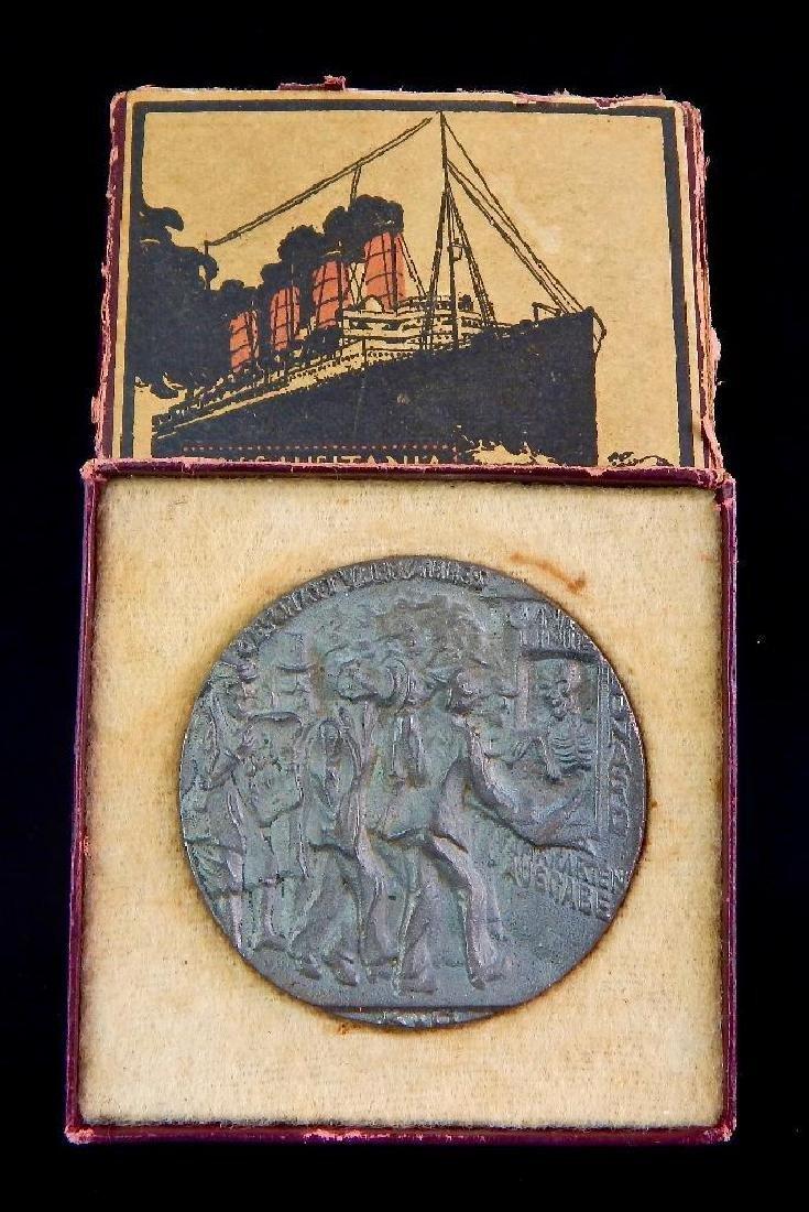 Boxed British Lusitania Medal - 2
