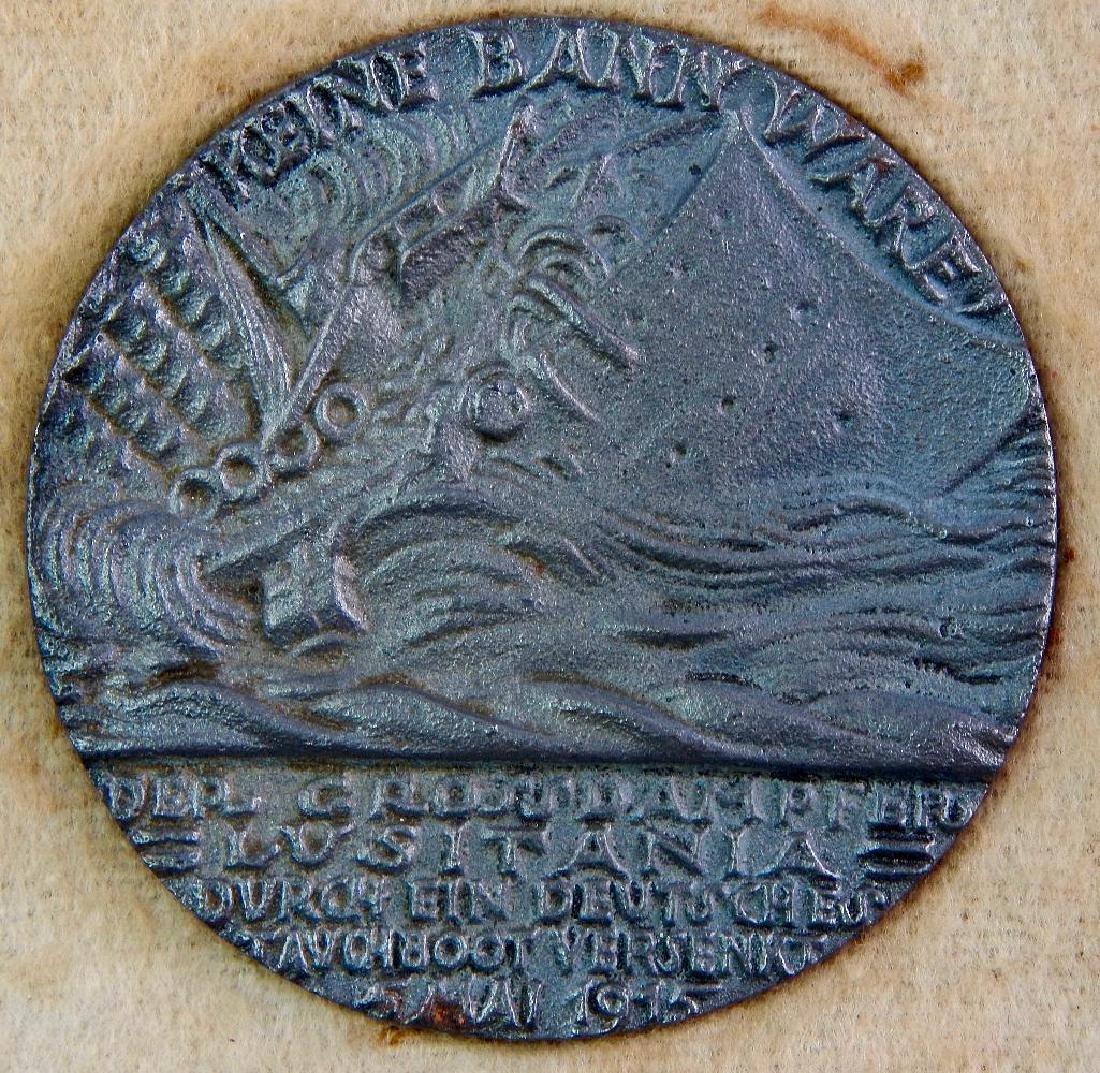 Boxed British Lusitania Medal - 4