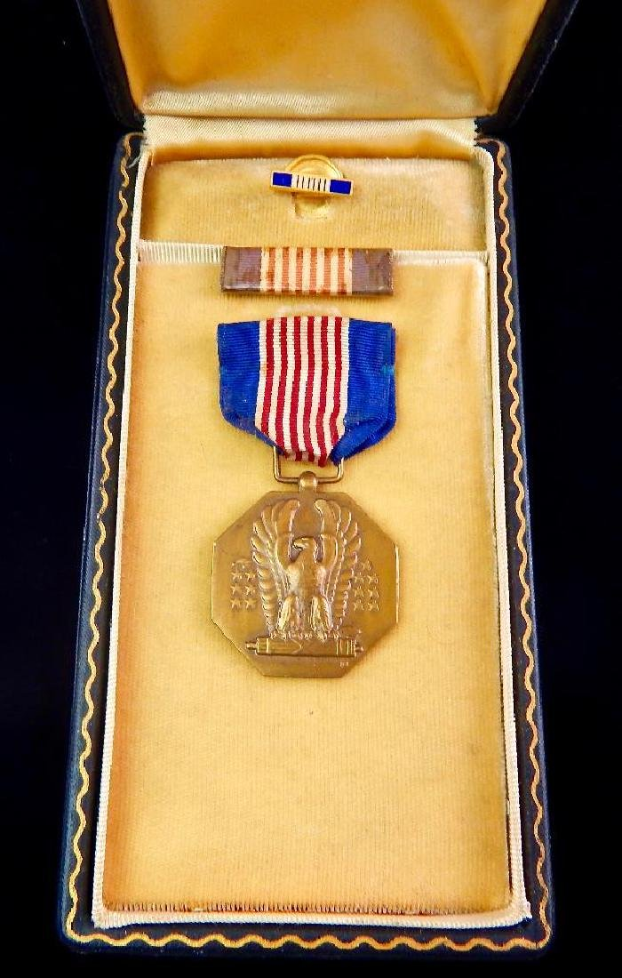 Boxed WW2 Soldiers Medal