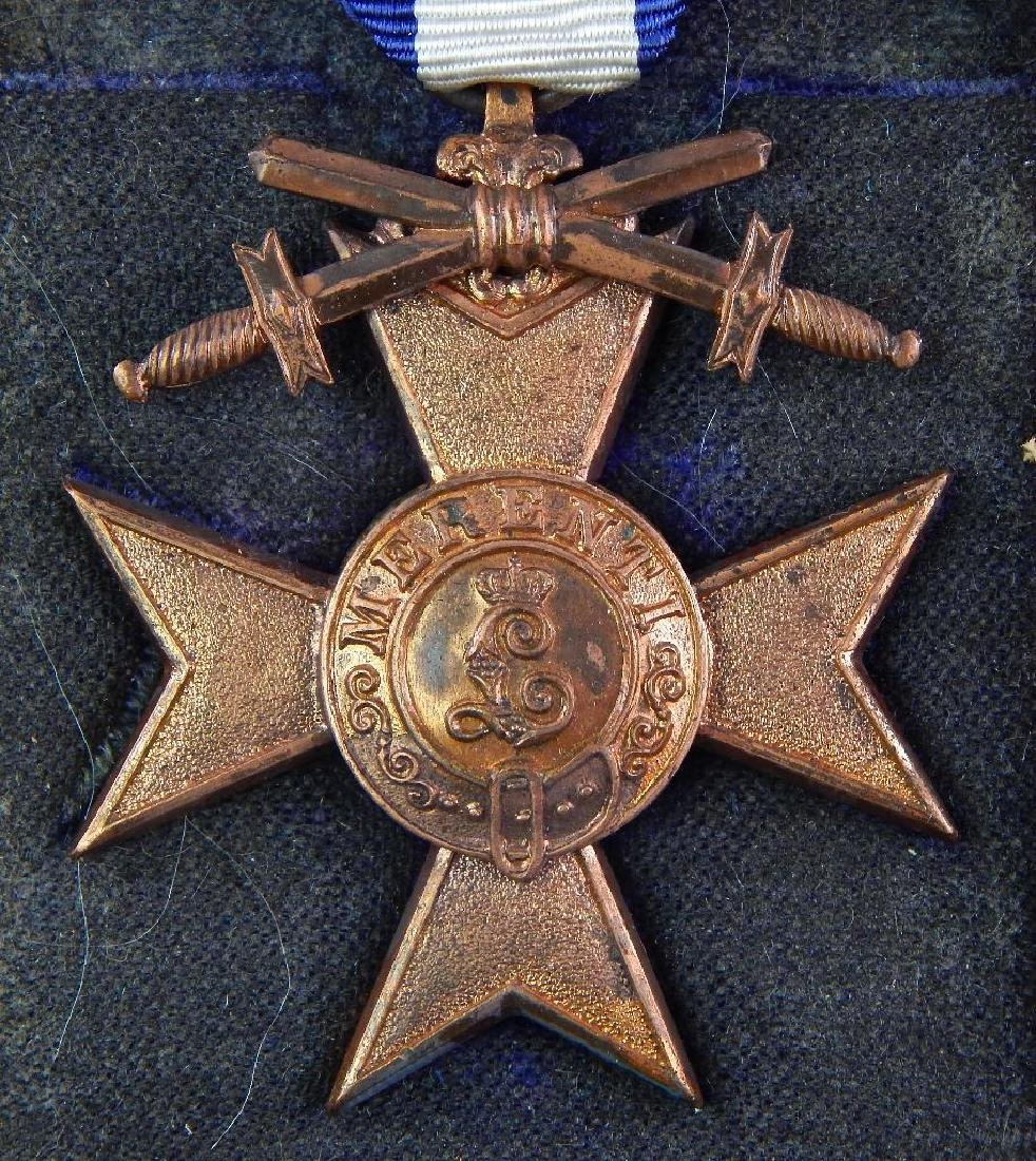 WWI Bavarian Merit Cross - 3