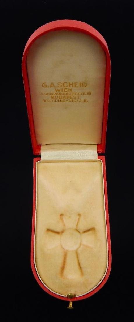 Hinged Austrian Medal Case - 2