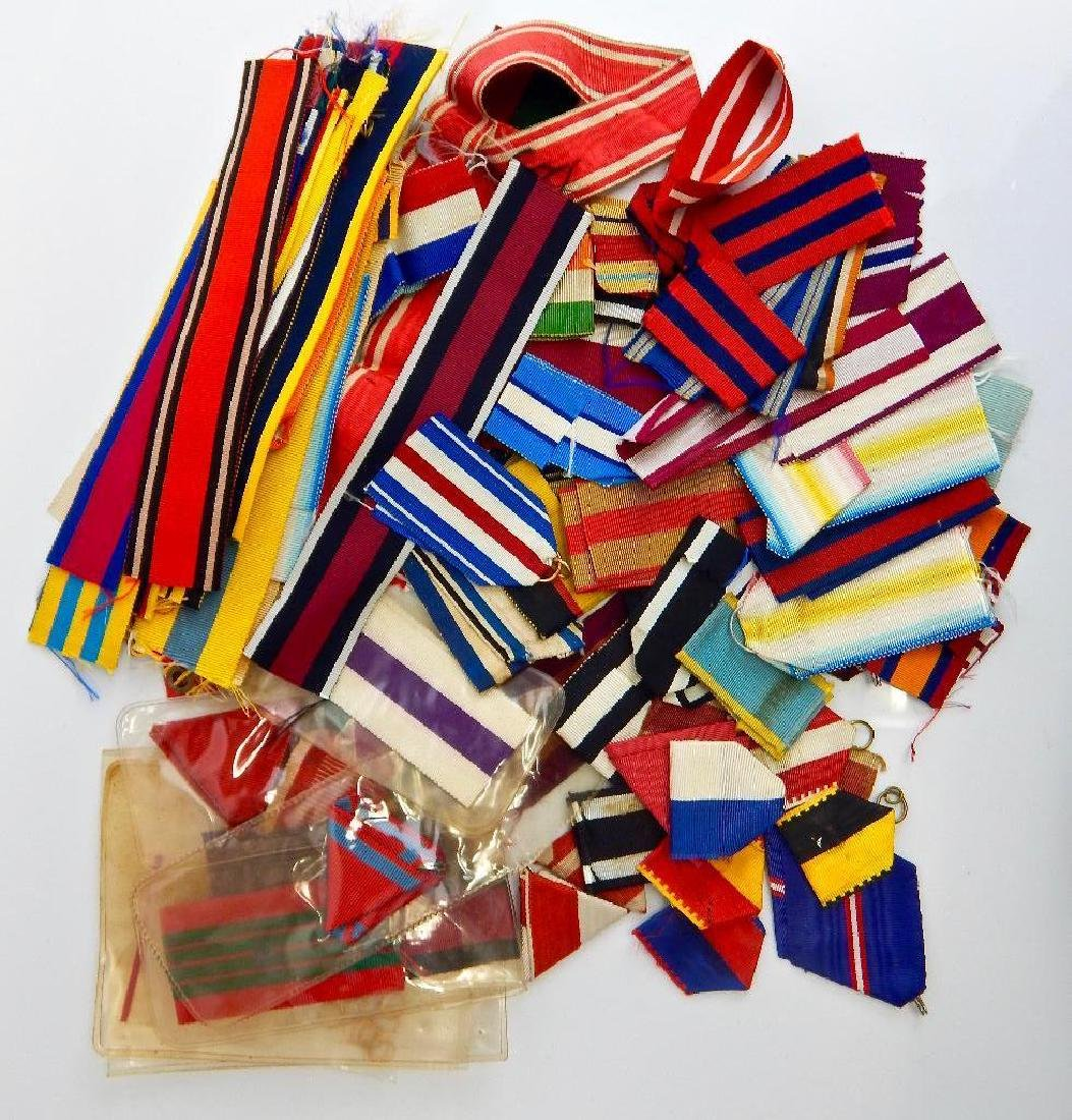 Awesome Large Grouping of World Medal Ribbons