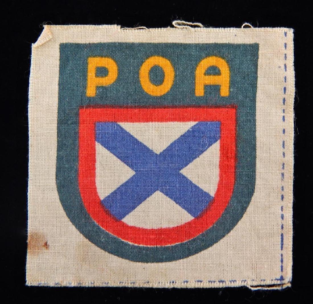 Original WW2 Russian Volunteer in Germany POA Sleeve