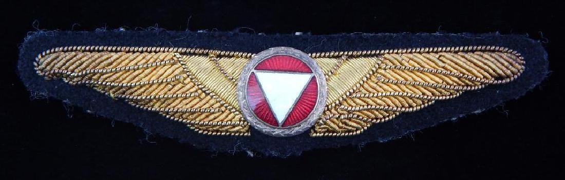 Unknown Military Pilot Wing