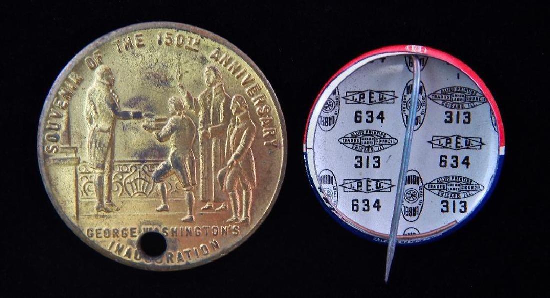 1939 New York World's Fair Medallion and JFK Election - 2
