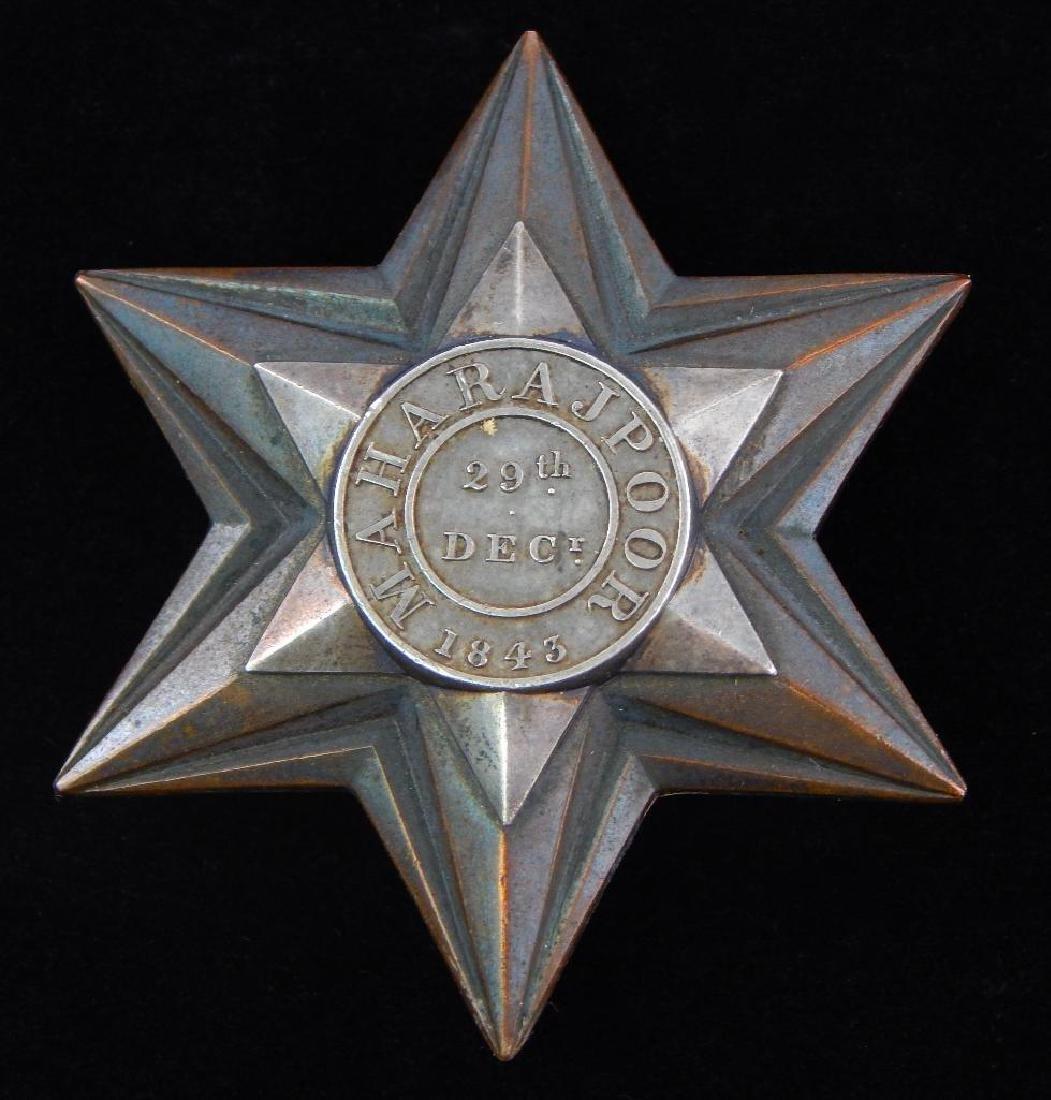 Heavy British Star Badge