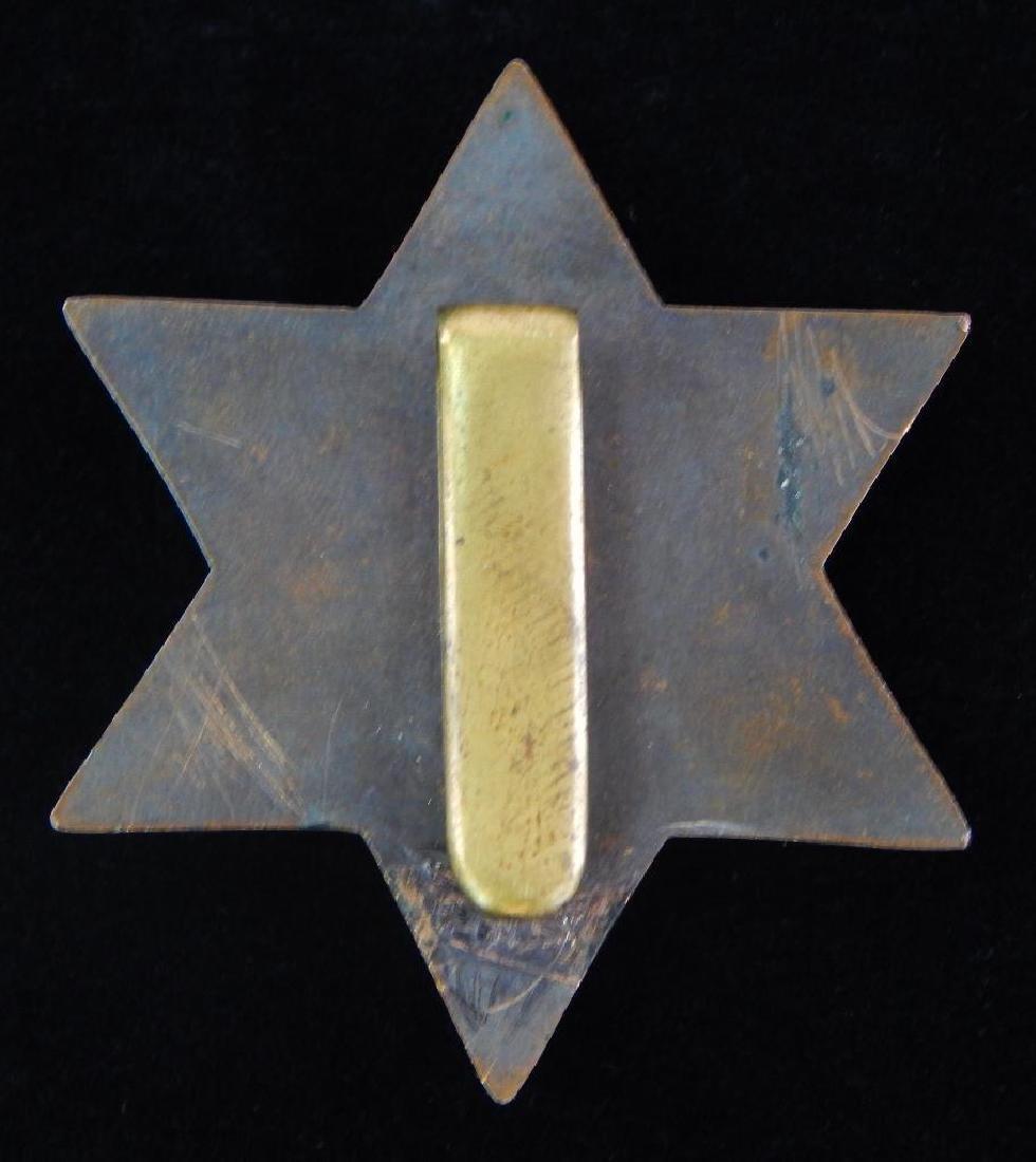 Heavy British Star Badge - 2