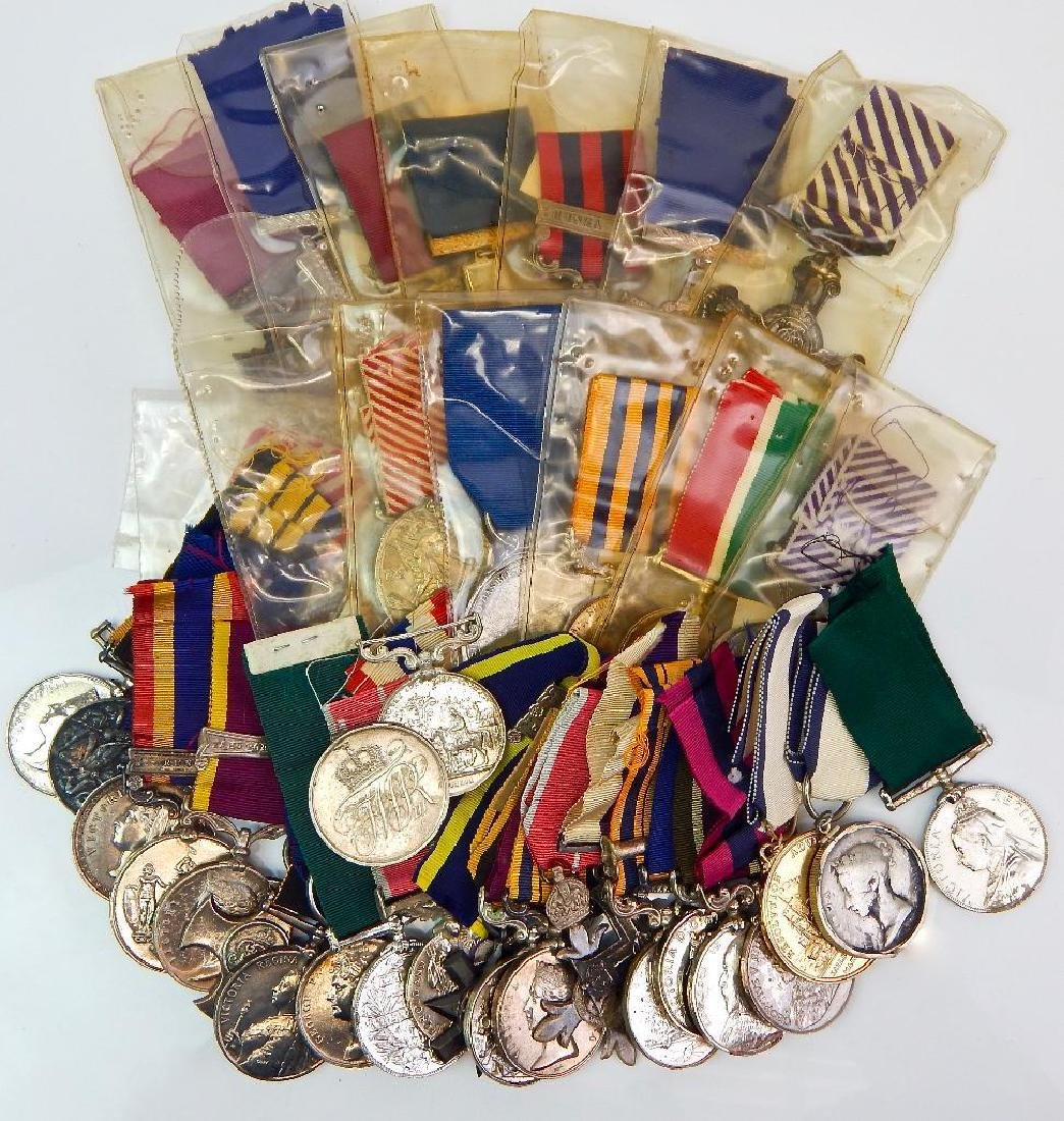 Large Collection of 38 British Restrike/Copy Medals