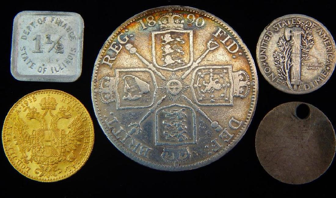Coin Lot: - 2