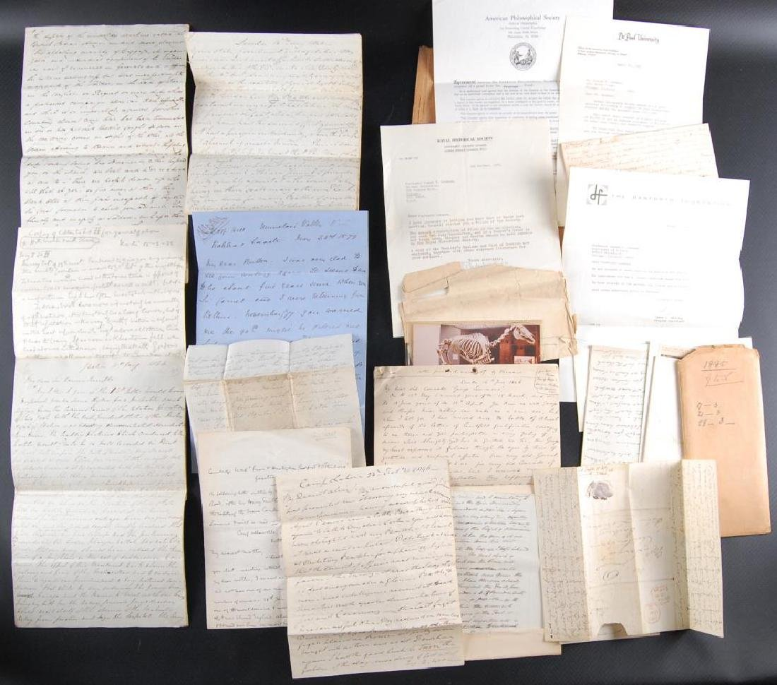 Group of Victorian Letters Sent Home from British