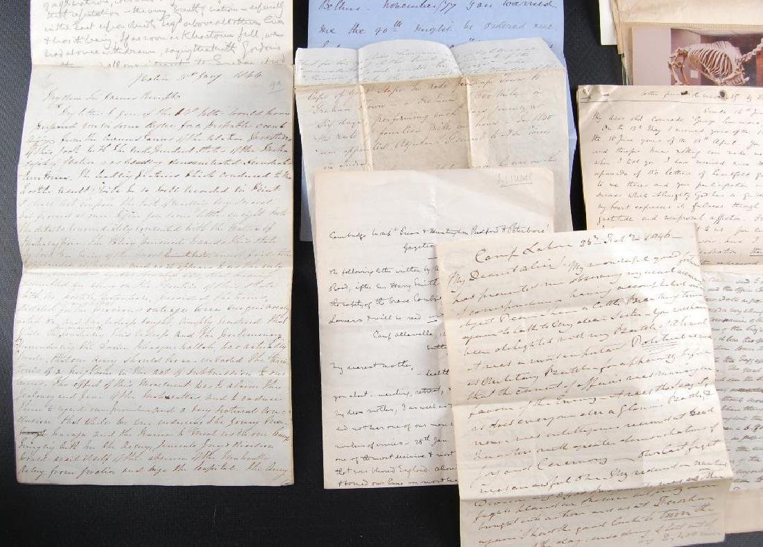 Group of Victorian Letters Sent Home from British - 2